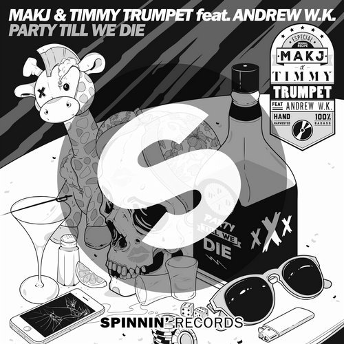 MAKJ, Timmy Trumpet - Party Till We Die (ft. Andrew W.K.) MIDI