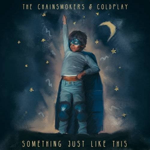 MIDI of The Chainsmokers, Coldplay - Something Just Like This