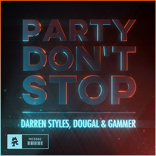 MIDI of Darren Styles, Gammer, Dougal - Party Don't Stop