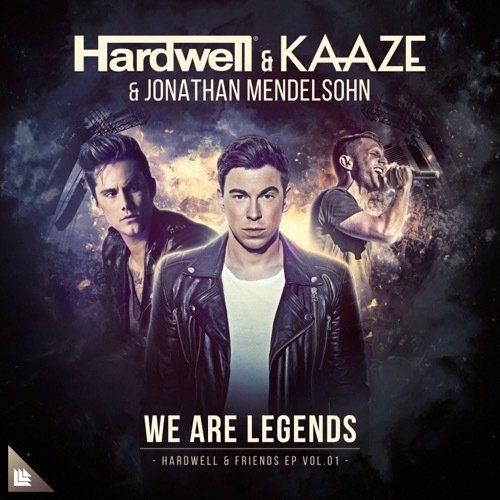 Hardwell, Jonathan Mendelsohn, KAAZE - We Are Legends MIDI