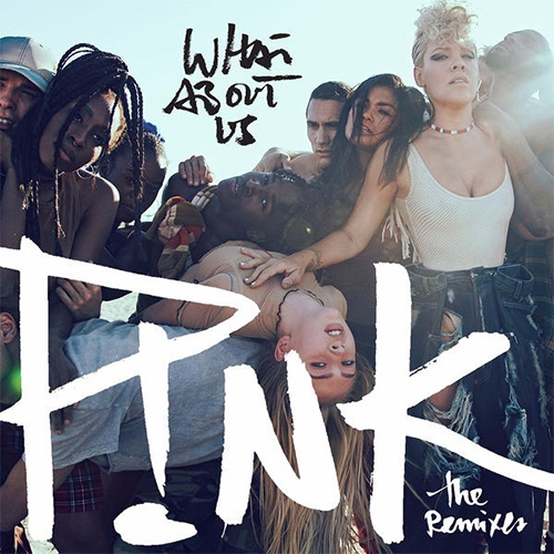 P!nk - What About Us (Cash Cash Remix) MIDI