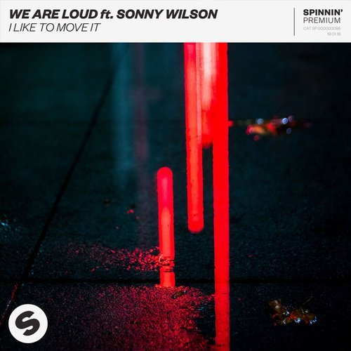 Sonny Wilson, We Are Loud - I Like To Move It MIDI