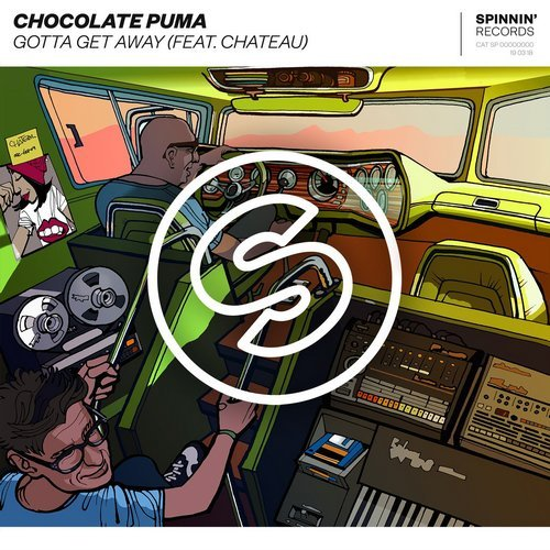 Chocolate Puma, Chateau - Gotta Get Away MIDI