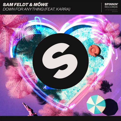 Sam Feldt, MÖWE - Down For Anything (ft. KARRA) MIDI