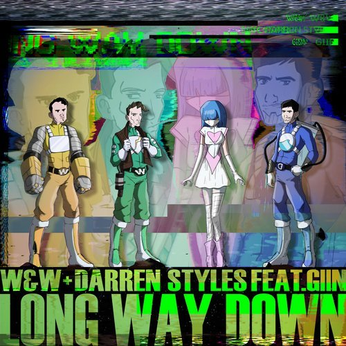 Darren Styles, W&W, Giin - Long Way Down MIDI