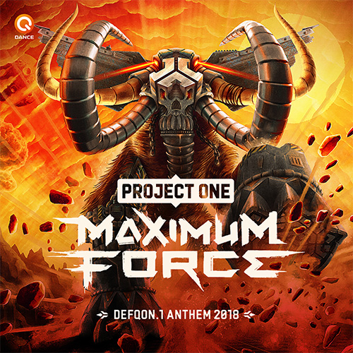 Project One - Maximum Force (Official Q-dance Anthem 2018) MIDI