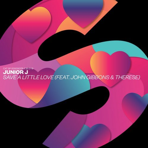 Junior J - Save A Little Love (feat. John Gibbons & Therese) MIDI