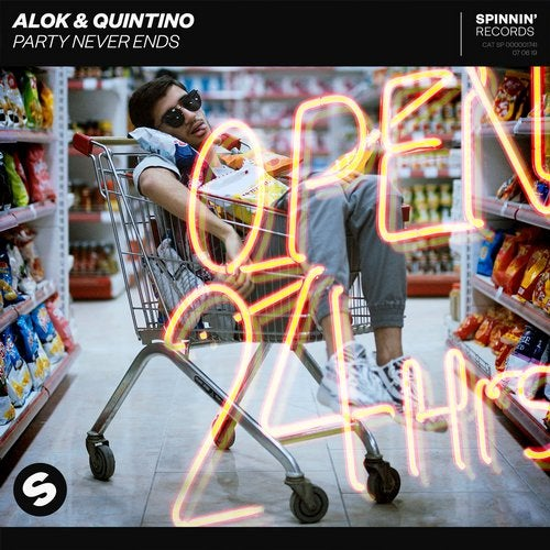 Quintino, Alok - Party Never Ends MIDI