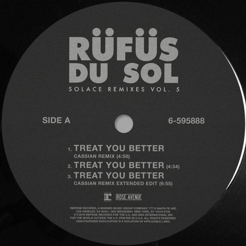 RÜFÜS DU SOL - Treat You Better (Cassian Remix) MIDI