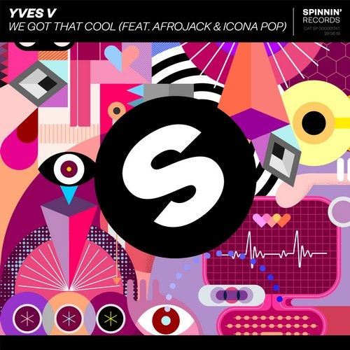 Yves V - We Got That Cool (feat. Afrojack & Icona Pop) MIDI