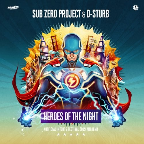 D-Sturb, Sub Zero Project - Heroes of The Night (Official Intents Festival 2019 Anthem) MIDI