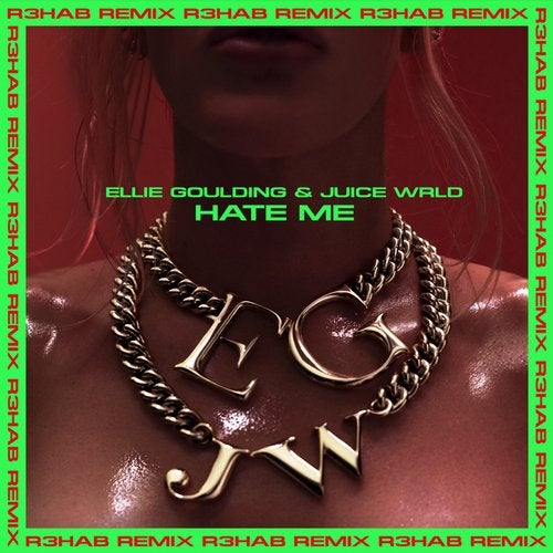 Ellie Goulding - Hate Me (ft. Juice WRLD) (R3HAB remix) MIDI