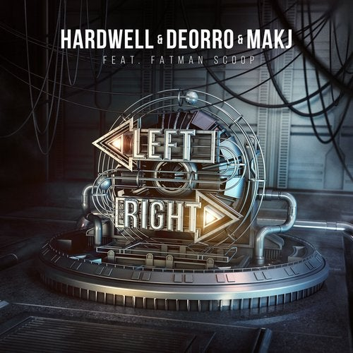 Hardwell, Deorro & MAKJ feat. Fatman Scoop - Left Right MIDI