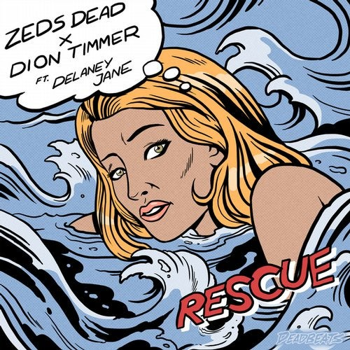 Zeds Dead x Dion Timmer - Rescue (feat. Delaney Jane) MIDI