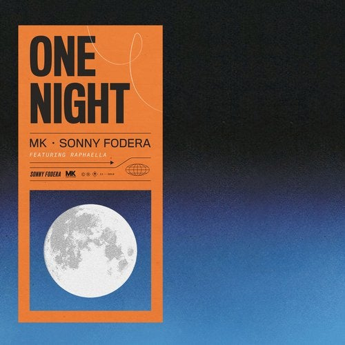 MK, Sonny Fodera - One Night (feat. Raphaella) MIDI