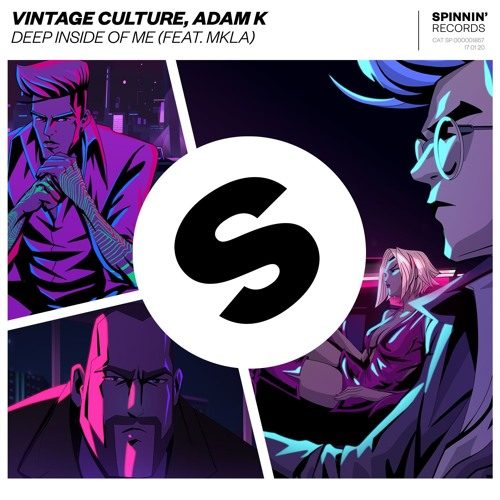 Vintage Culture, Adam K - Deep Inside Of Me (feat. MKLA) MIDI