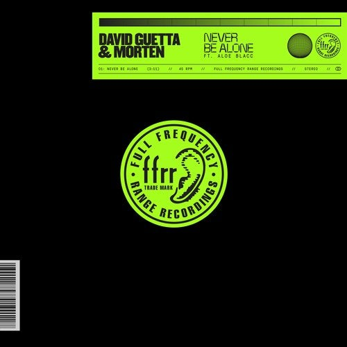 David Guetta, MORTEN - Never Be Alone (feat. Aloe Blacc) MIDI
