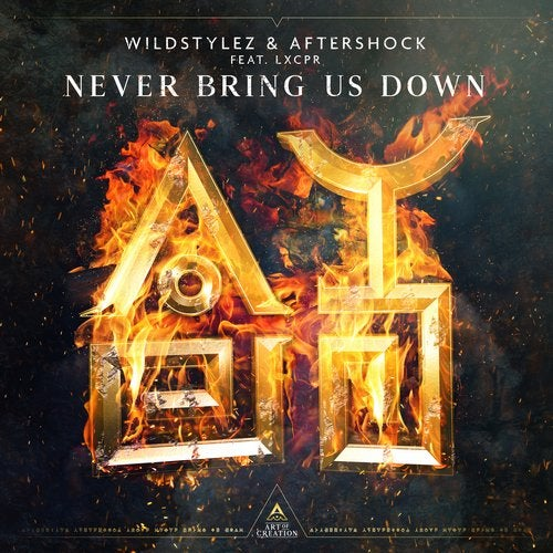 Wildstylez, Aftershock - Never Bring Us Down (feat. LXCPR) MIDI