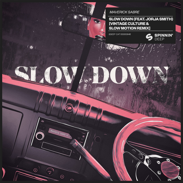 Maverick Sable - Slow Down (feat. Jorja Smith) (Vintage Culture & Slow Motion Remix) MIDI