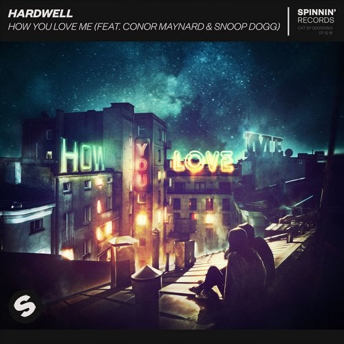 Hardwell - How You Love Me (feat. Conor Maynard & Snoop Dogg) MIDI