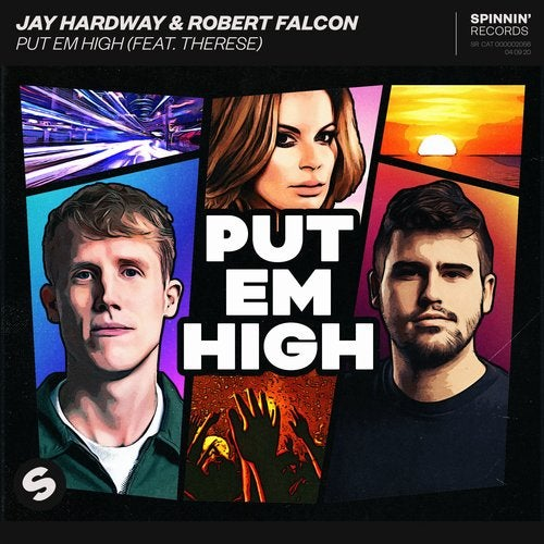 Jay Hardway, Robert Falcon - Put Em High (feat. Therese) MIDI